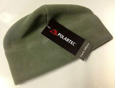 Unisex Foliage Green Military Polartec Micro Fleece Cap Polartec Hat