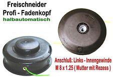 Fadenkopf Homelite Robin 8 x 1.25mm links Innen-Gewinde Freischneider Motorsense