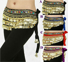 HOT!! Beautiful NEW Belly Dance dancing Waist Chain Hip Scarf Costume