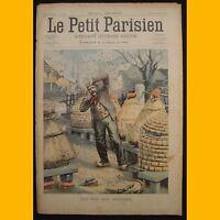 LE PETIT PARISIEN Supplément littéraire illustré Sécheresse Algérie 23 mars 1902