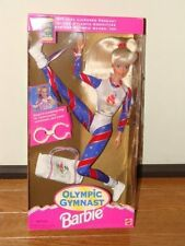 New Olympic Gymnast Barbie Doll 1996 Atlanta Olympic Games Magic Tumbling Ring