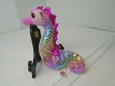 Official Ty Beanie Babies Collection MAJESTIC Iridescent Seahorse 2015