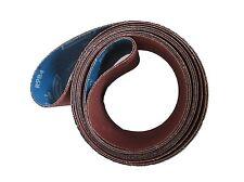 Qty 2  Edge Sander Sanding Belt R984 50 Grit USA New Norton 4 x 132 Ritter Pacco