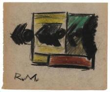 "After Robert Motherwell, (1915 - 1991 Greenwich, CT), ""Elegia Romana... Lot 2247"