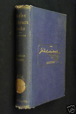 The Life And Adventures Of Nicholas Nickleby, by Charles Dickens, 1872 HC, illus