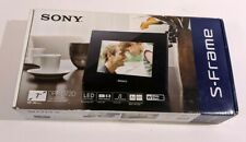 SONY Digital Photo Frame S-Frame D720 7.0-inch 2GB White DPF-D720