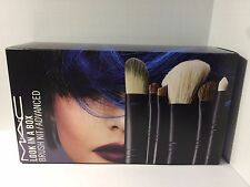 MAC Cosmetics Look in a Box Advanced Brush Set with Original Bag NIB