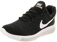 NEW KID´S  NIKE LUNAREPIC LOW FLYKNIT 2 GS Running shoes BLACK SZ US 4.5y