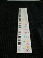 Mrs. Grossman Creative Memories Sticker Sheet -  TWO Music Border Sheets