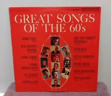 "Vintage LP - ""Great Songs of the 60's"" - Volume 1 - Various Artists - VGC"