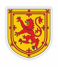 Scotland Sticker United Kingdom Coat of Arms for Bumper Laptop Tablet Helmet