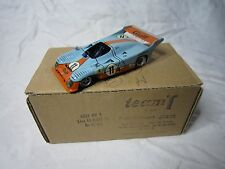 DV7180 TEAM T DAM GULF GR 8 LM 75 #11 LE MANS 1975 1/43 WINNER ICKX BELL