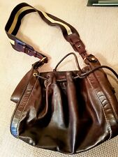 Bally- leather shoulder bag- used In very good condition