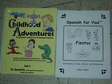 CHILDHOOD ADVENTURES Spanish Book+CD Fiestas Spanish for You Debbie Annett