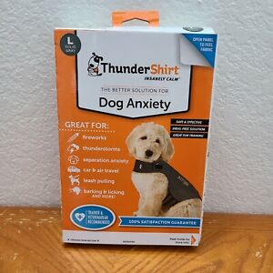 Thundershirt Dog Anxiety Treatment HGL-T01 Large - Heather Gray