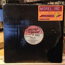 """[EDM]~EXC 12""""~GEORGE MOREL~INC.~Why Not Believe In Him~[Sunday Mix~Club Mix]~'95"""