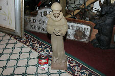 "St. Francis Of Assisi Clay Terra Cotta Statue-16"" Tall-Religious Christianity"