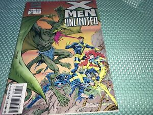 X-Men Unlimited Comic #6 Sept 1994 Direct Edition Fast Free Shipping