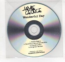 (GN979) Jamie George, Wonderful Day - DJ CD