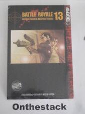 MANGA:     Battle Royale Vol. 13 by Koushun Takami (2005, Paperback) Sealed!