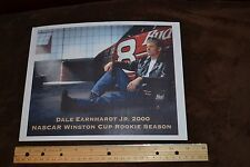 Photo of Dale Earnhardt Jr, Budweiser, 2000, Rookie, Racecar Picture 8.5 x 11