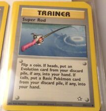 Pokemon Cards - Super Rod TRAINER #103/111 Neo Genesis NM (2000)