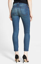 NWT Current/Elliott The Stiletto Mid-Rise Cropped Skinny Jeans in Darcy Size 25