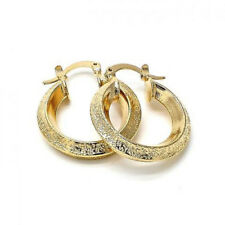 BEAUTIFUL STERLING SILVER EARRINGS WITH 18K GOLD !!!