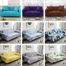 New Stretch Elastic Sofa Covers Slipcovers 1/2/3/4 Seater Couch Covers for Sofas