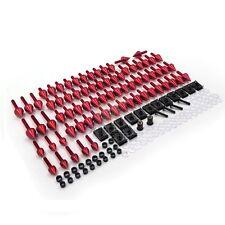 Honda CBR 600 929 954 900 RR RED Spike Fairing windscreen Bolts Screws