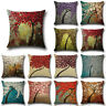 Vintage Linen Cotton Throw Pillow Case Cushion Sofa Decor Soft New Cover Home