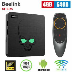 Beelink GT-King Most Power Smart TV Box S922X Android 9.0 4GB LPDDR 4+64GB Media