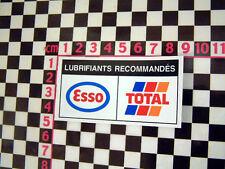 Peugeot citroen underbonnet huile autocollant sticker 205 405 ax gti 309 bx xm 309