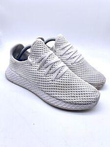 adidas Tennis Deerupt White Trainers Uk 9 43