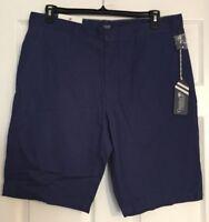 Caribbean Joe Coastal Casuals Fresh Indigo(Blue) Shorts Size 36 or 40 NWT