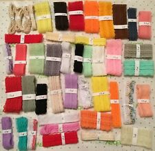 Huge Lot of Lace~DIY~Sewing~Doll Clothes~Scrapbooking~Embellishment~Craft