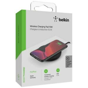 BELKIN Wireless Charging Pad 10W  BOOST↑CHARGE™ NEW!