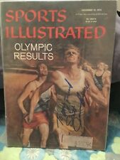 ISAAC BERGER SIGNED 56 SPORTS ILLUSTRATED/WEIGHTLIFTER GOLD MEDAL OLYMPIC JEWISH