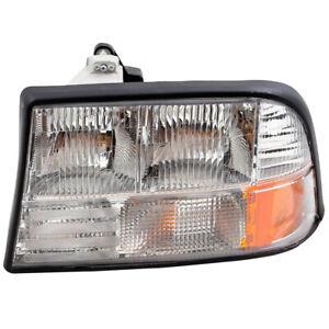 Drivers Headlight Assembly for Oldsmobile Bravada GMC Jimmy Sonoma Pickup Truck