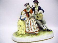 A Rare & Exquisite DRESDEN Porcelain Figural Group by Wilhelm Rittirsch c1959