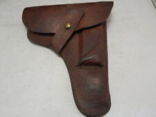 WW2 LEATHER OFFICERS PISTOL HOLSTER