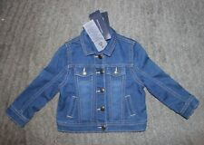Tommy Hilfiger Toddler Girls Blue Jean Jacket - Size 2T -...