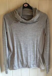 Ladies Hoodie Size 16 Work out By Primark Grey Toggled Hood (See info)