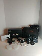 Panasonic LUMIX DMC-GM1K 16.0MP Digital Camera Silver Kit w/ Extra Accessories