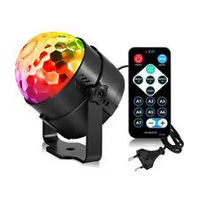 DJ Party Licht Discolicht 7 Farben 3 Modi Musikgesteuert mit Fernbedienung