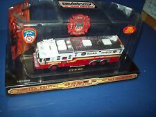 Code 3 FDNY Saulsbury Heavy Rescue 5 Limited Edition 1/64 New In Box