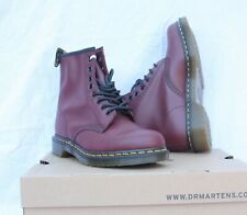 DR MARTENS 1460  10072600  Smooth  Boots Bottes Cuir Cherry Red 45 FR  10 UK