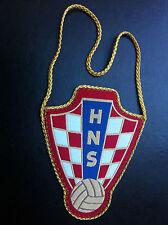 HNS - CROATIA - CROATIAN FOOTBALL FEDERATION - Hrvatski nogometni savez - flag !