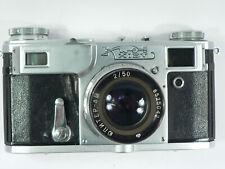 Kiev 4A Udssr Contax 2-Kopie mit Jupiter 8M 1:2/50 mm - top -