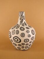 RARE Murrina Murano glass bottle handmade signed firmato bottiglia Davide Toso